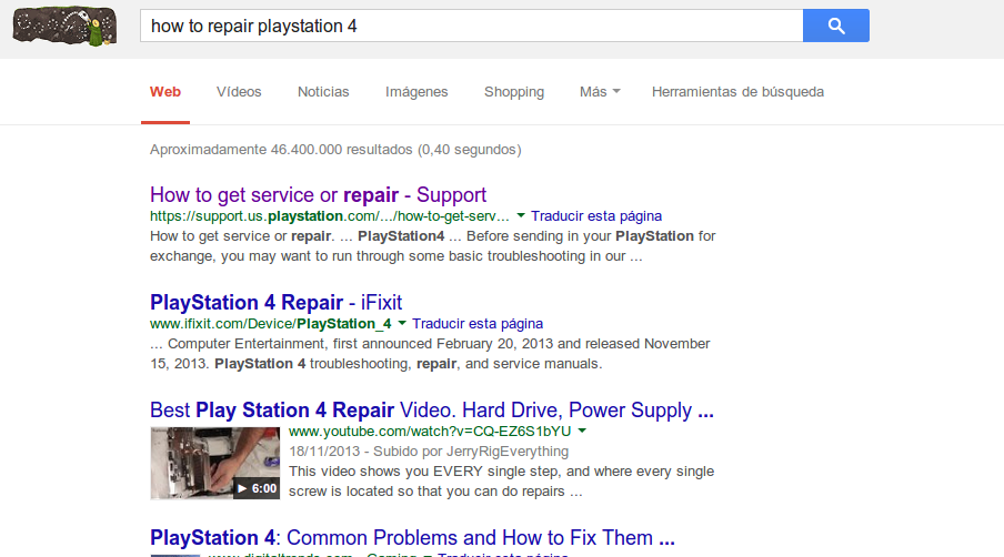 how to repair playstation4